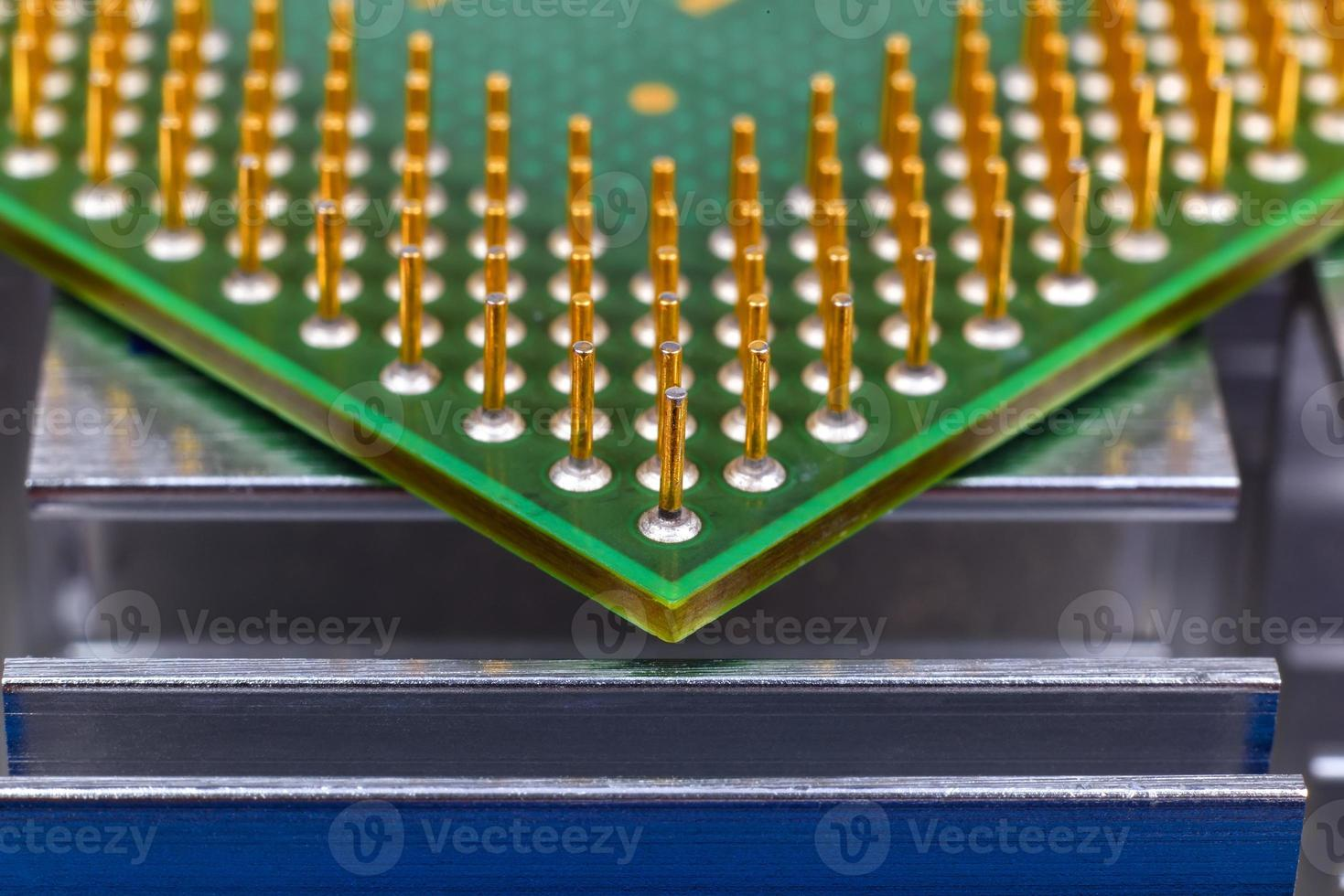 puce de processeur d'ordinateur photo