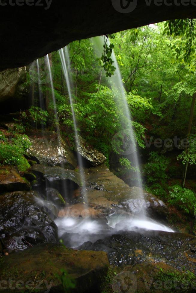 cascade dans le nord de l'Alabama photo