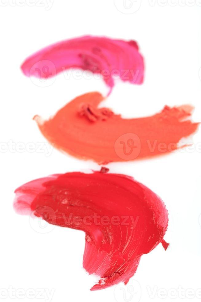 échantillons de rouge à lèvres photo