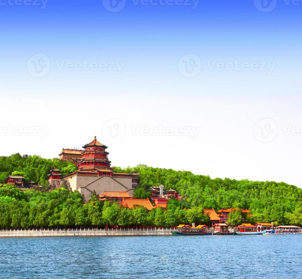 Palais d'été à Pékin, Chine photo