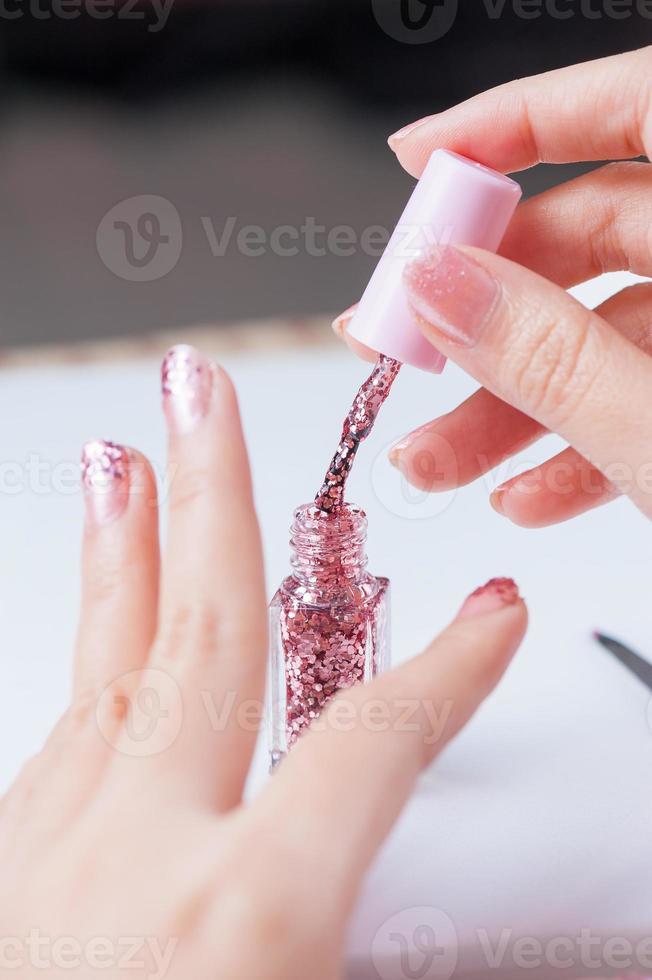 peinture à ongles photo