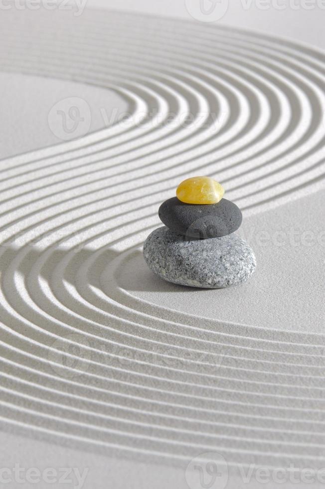 jardin zen japonais photo