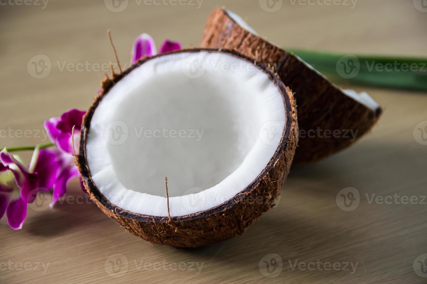 noix de coco fraîche photo