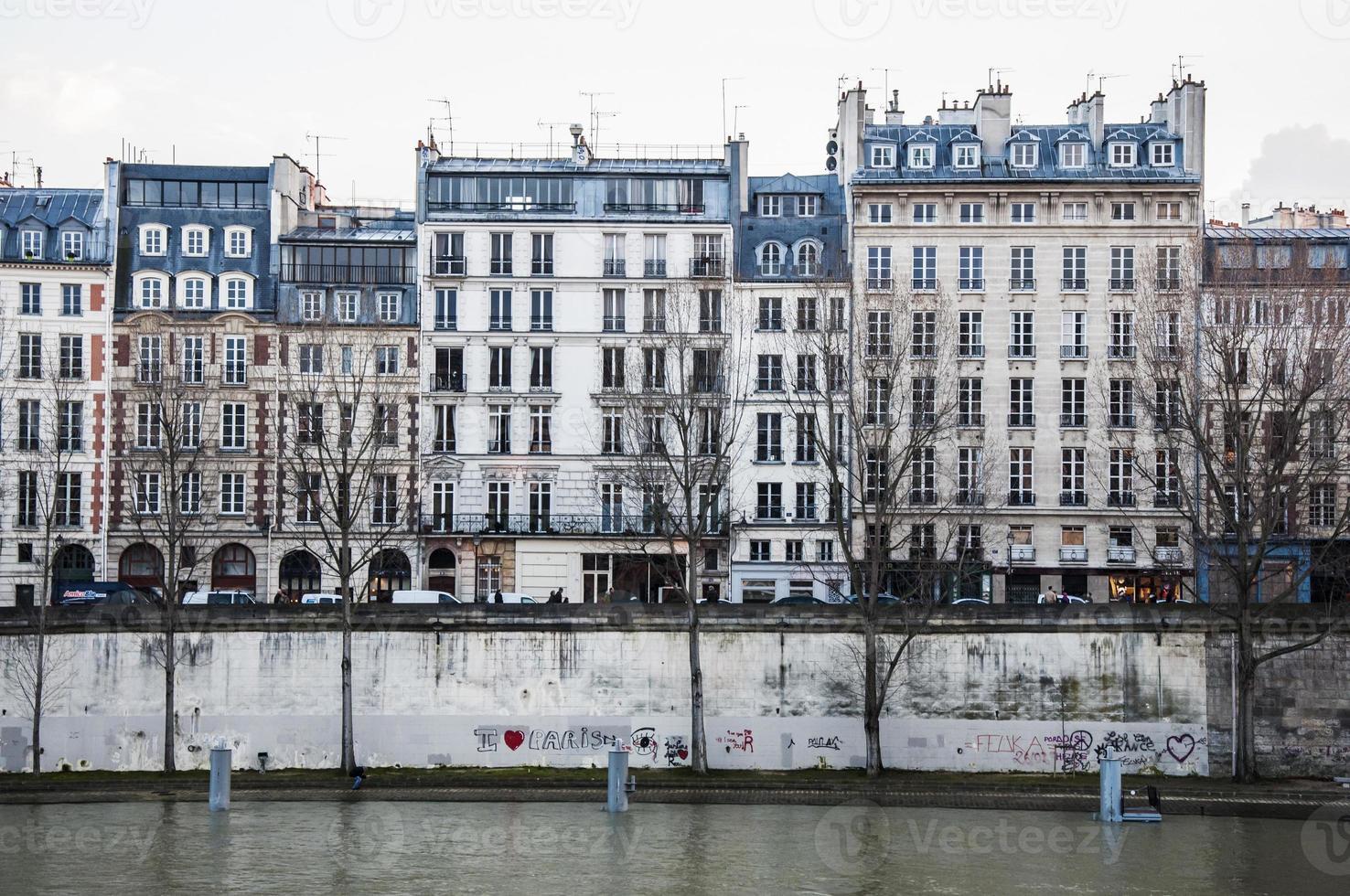 immeuble parisien photo