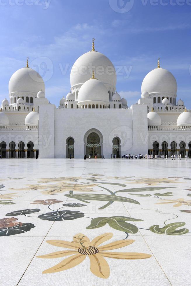 cheikh zayed grande mosquée à abu dhabi photo