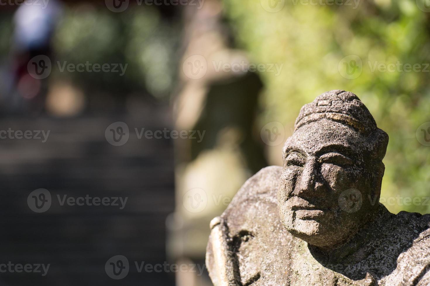 figurine en pierre photo
