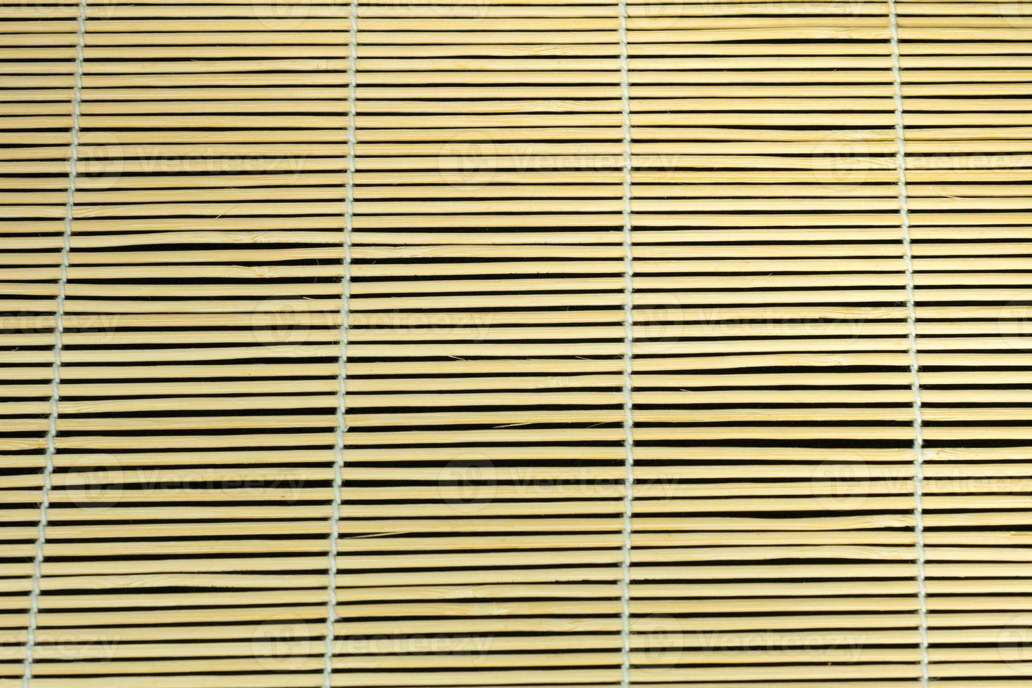 rideau en bambou. photo