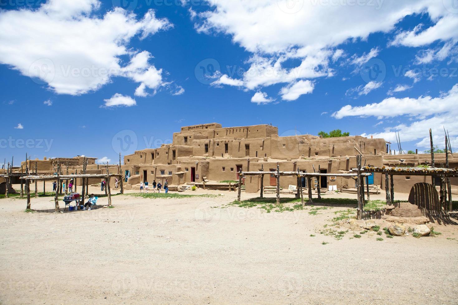 taos pueblo nouveau mexique amérique photo