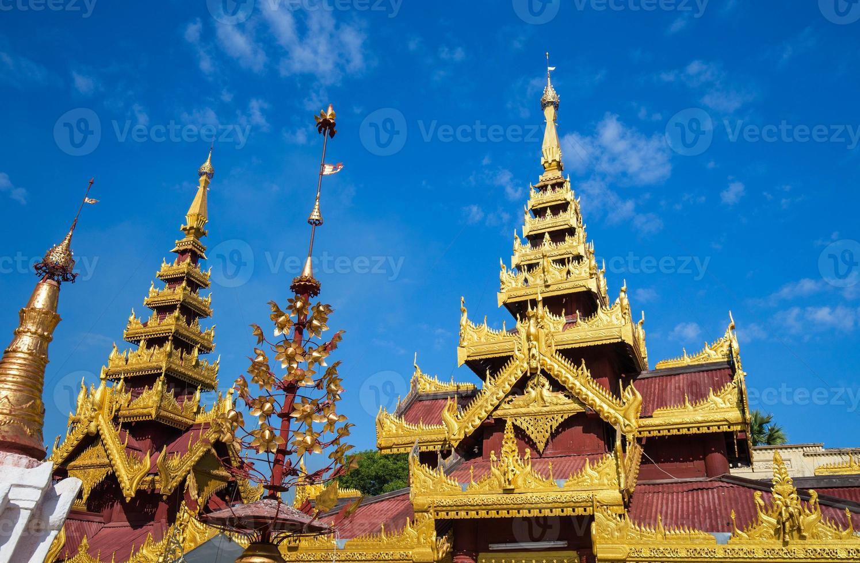 haut de la pagode, bagan, myanmar photo