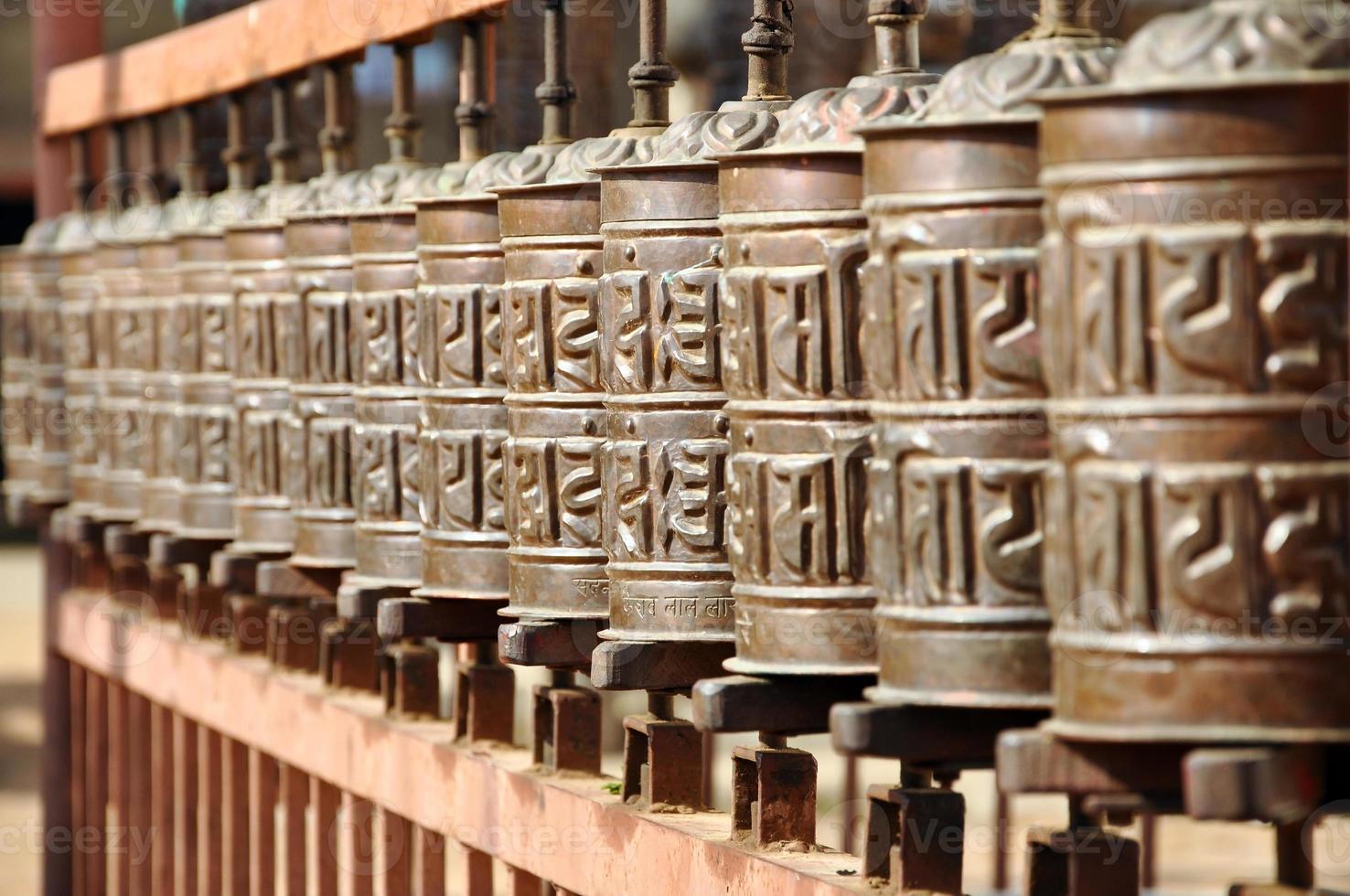 roues de prière photo