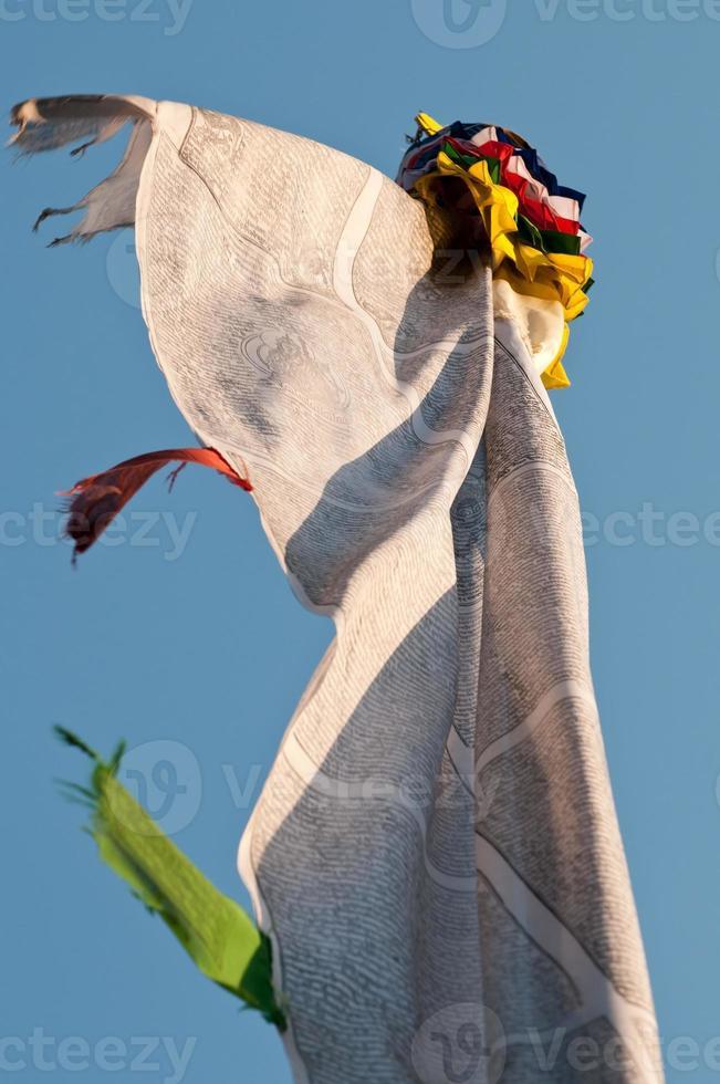 drapeaux de prière photo