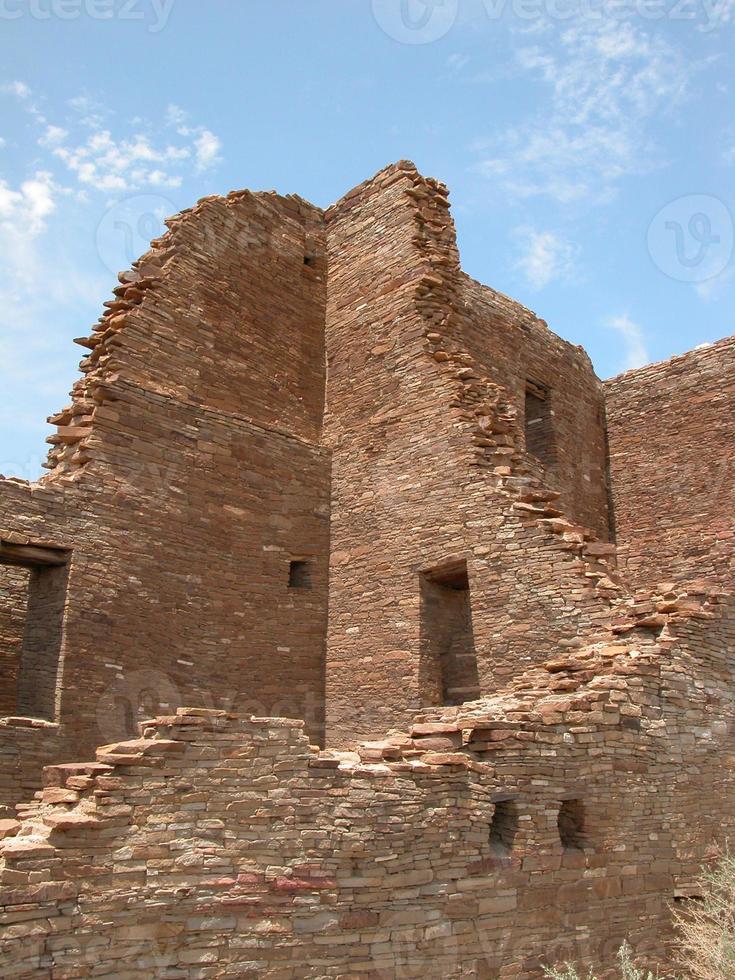 Ruines de Pueblo - Chaco, Nouveau-Mexique photo