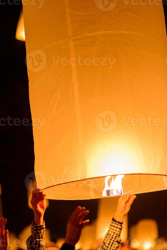 lanterne flottante photo