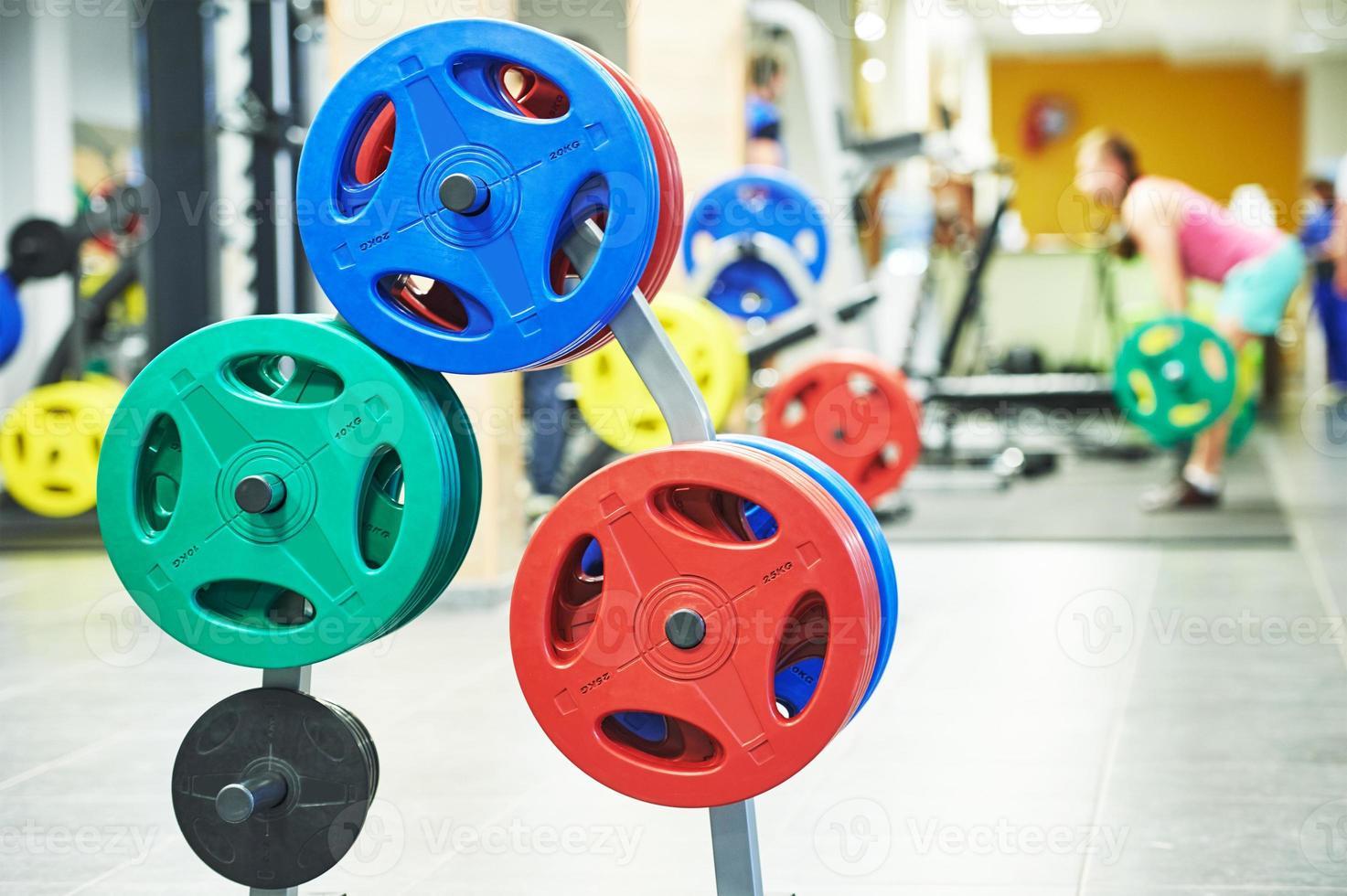 équipement de musculation pour l'entraînement photo