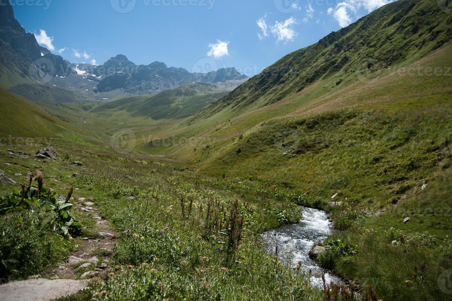 randonnées en montagne géorgie photo