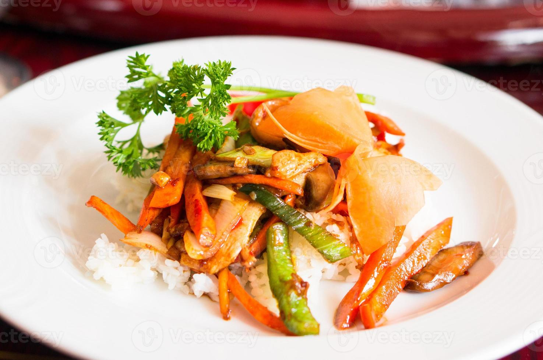 nourriture asiatique photo