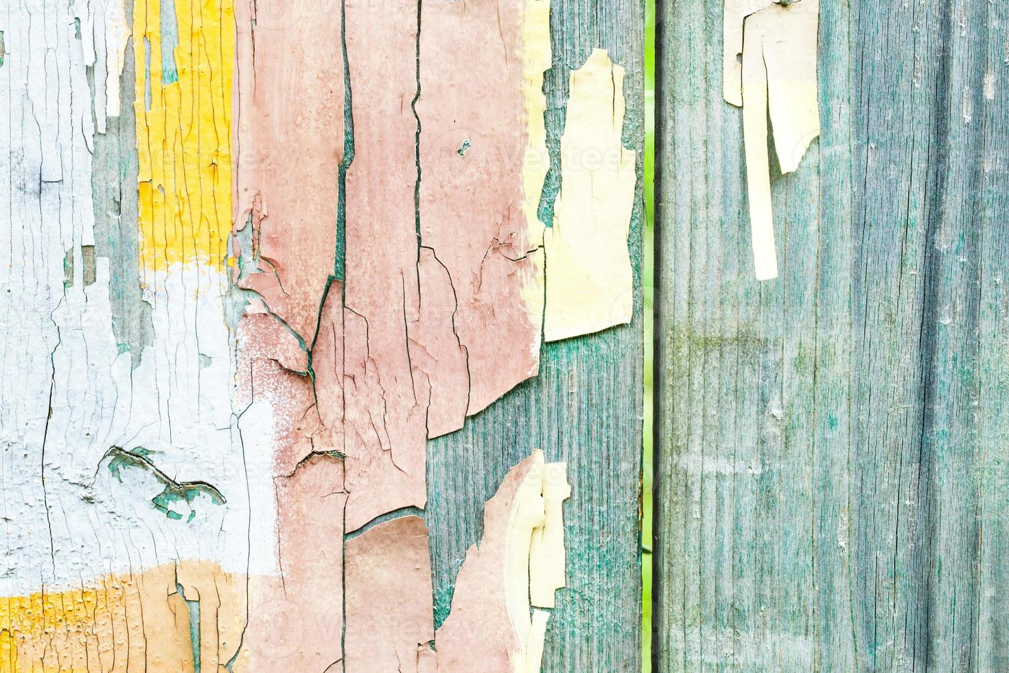 texture de panneaux de bois grunge photo
