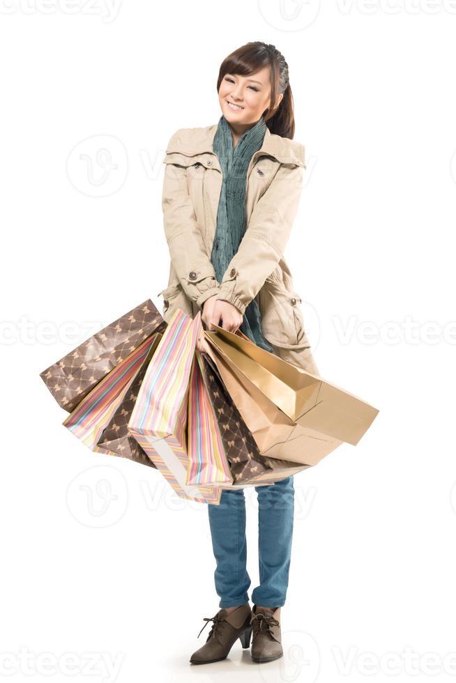 femme commerçante asiatique photo