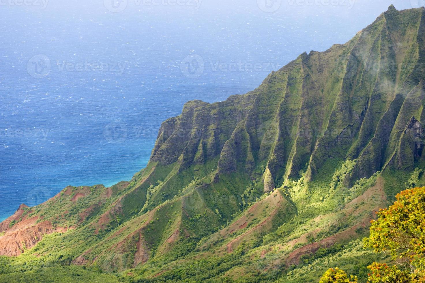kalalau valley, kauai, hawaii. photo