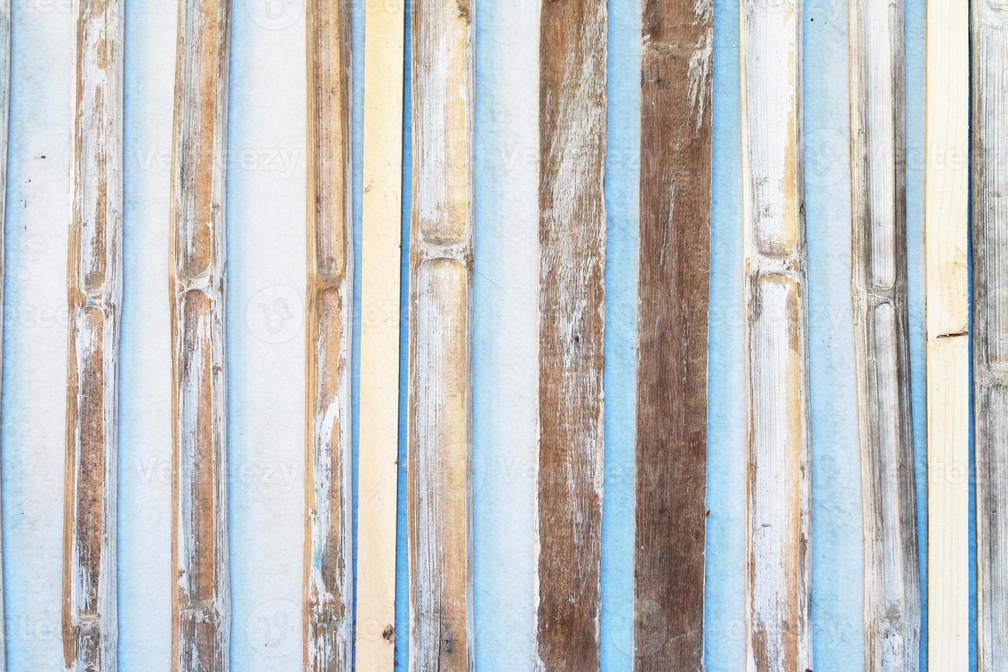 motif en bois de planche. photo