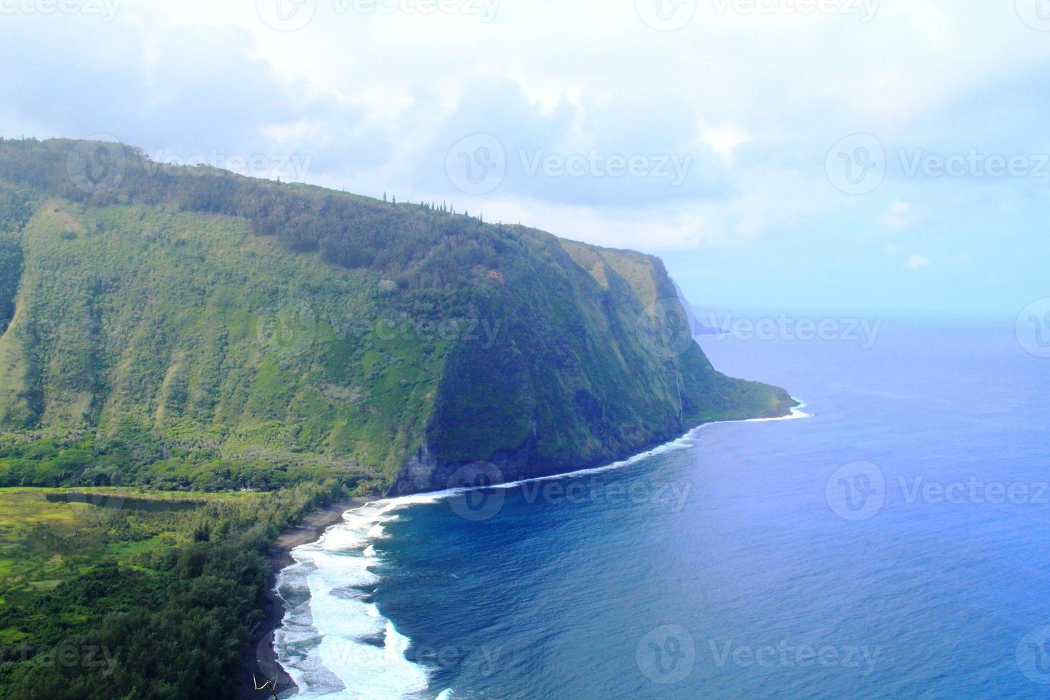 beaux paysages naturels d'Hawaï photo
