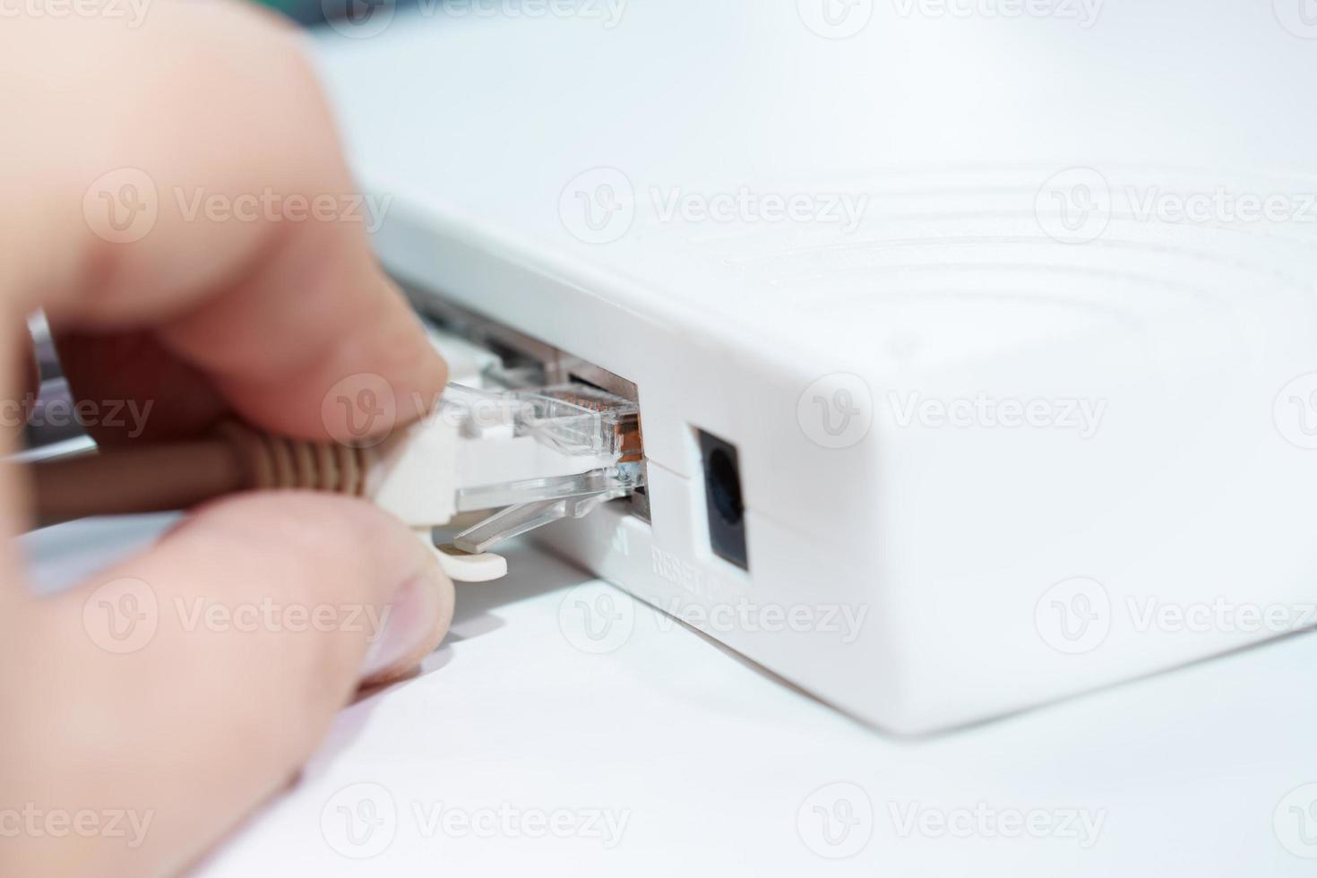 modem réseau photo