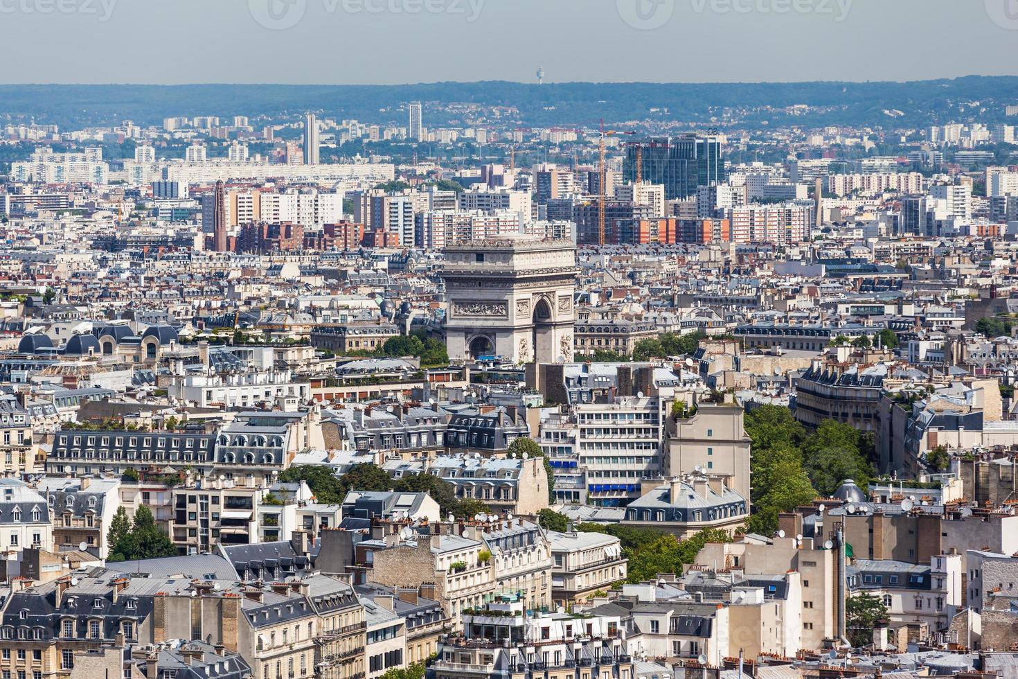 paysage urbain de paris photo