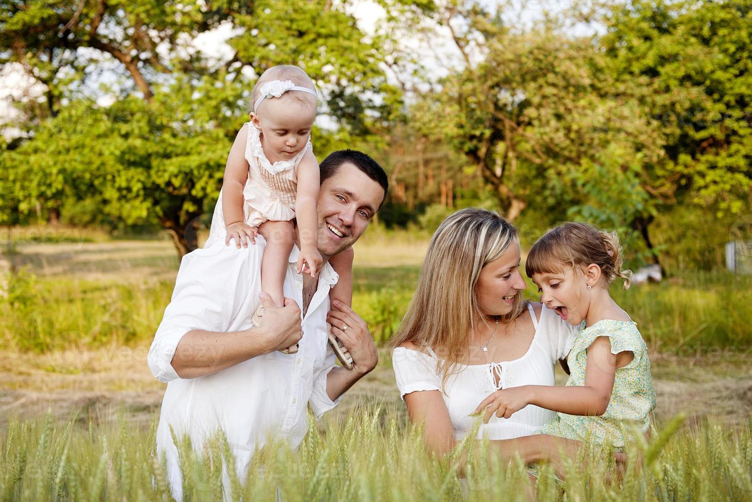 famille heureuse photo