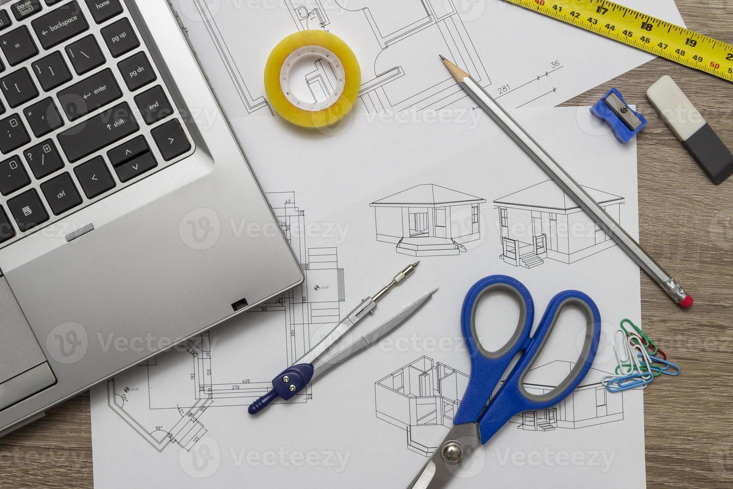 dessins d'architecte photo