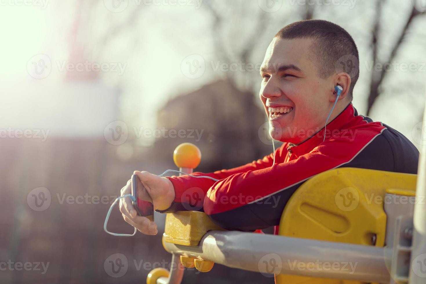 portrait de sport photo
