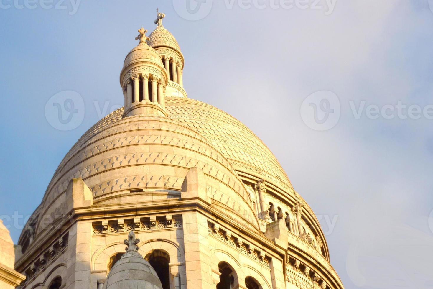 basilique du sacré-coeur, paris photo