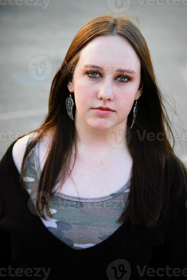 portrait de l'adolescence photo