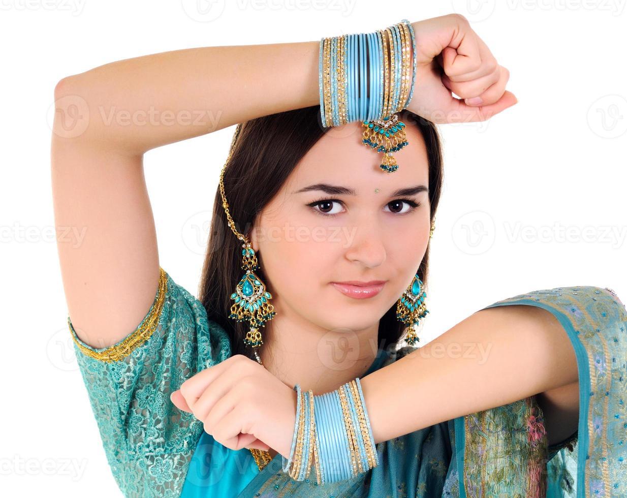 portrait de femme indienne photo