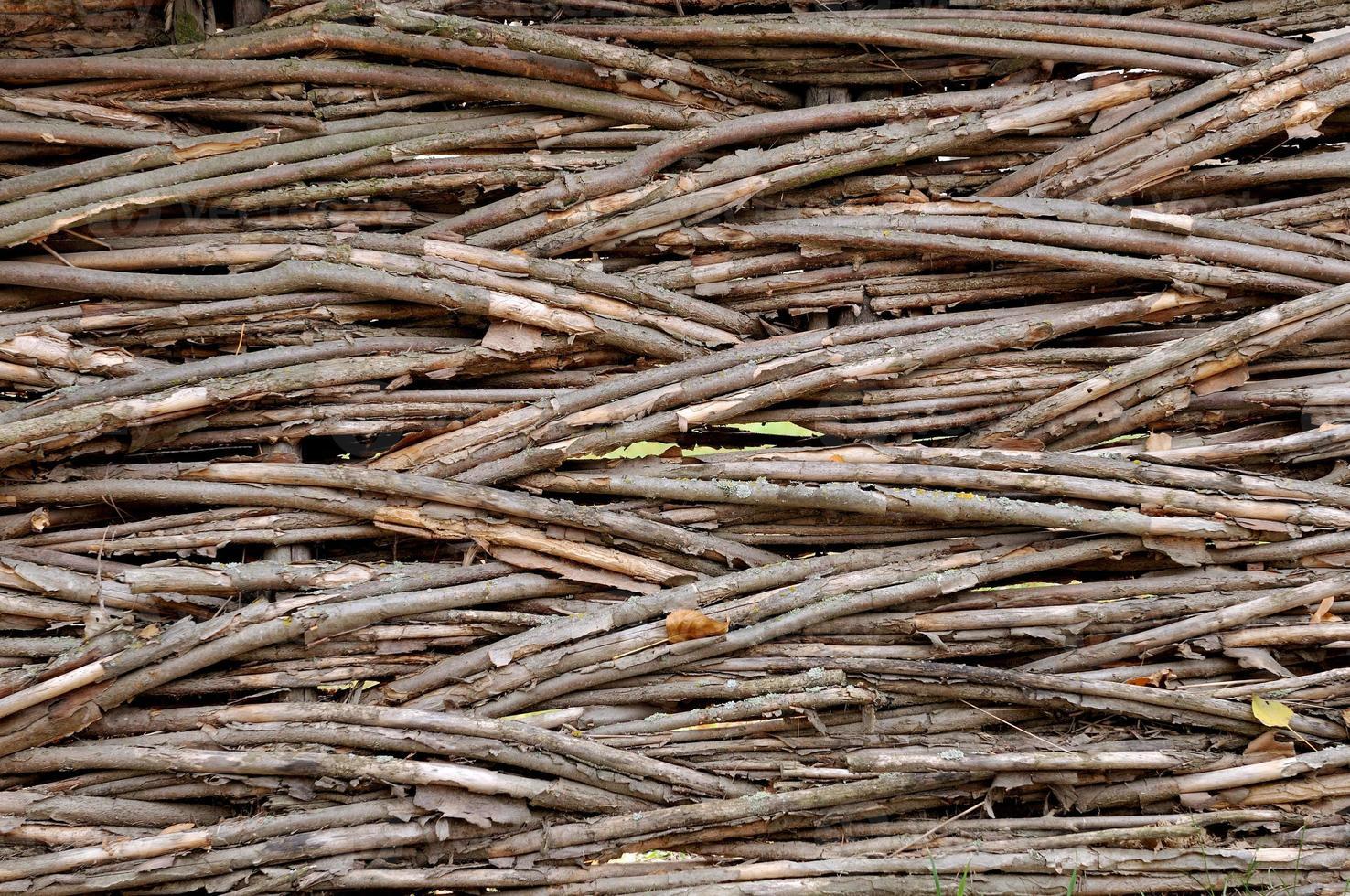 vieille fance en bois photo