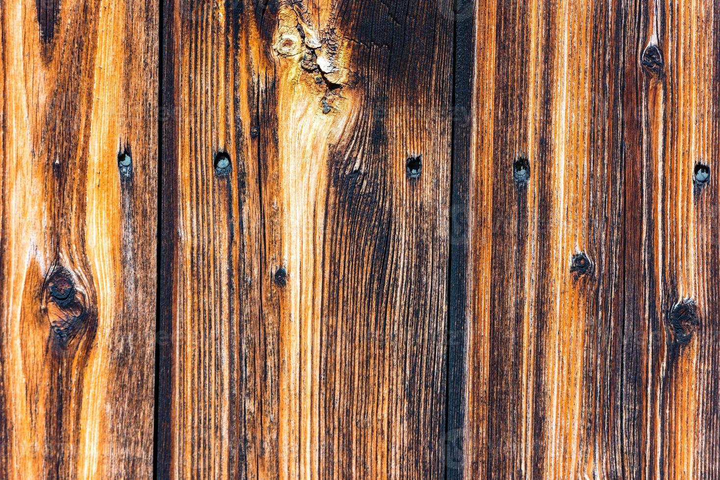 fond de surface de vieilles planches de bois photo