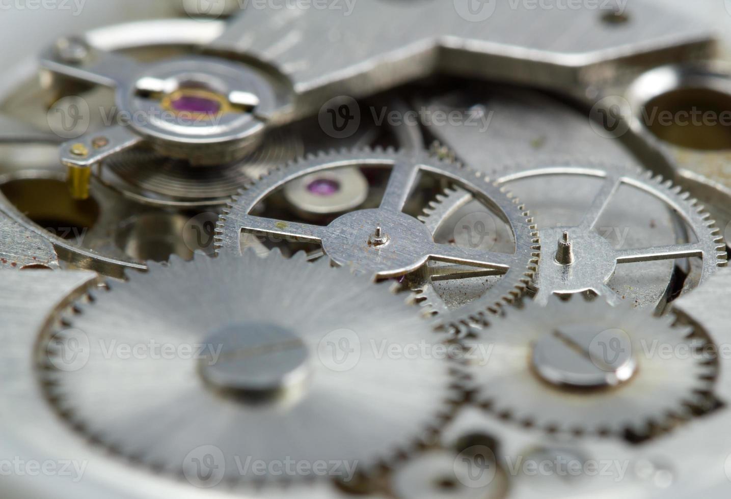 mouvement d'horlogerie bouchent photo