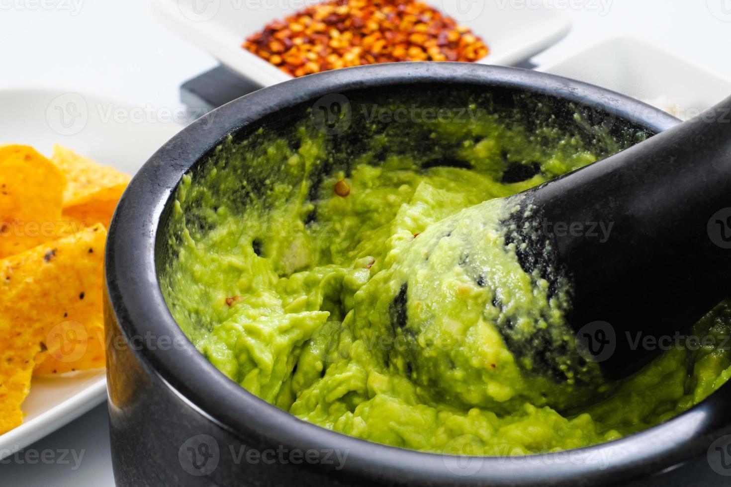 faire du guacamole photo