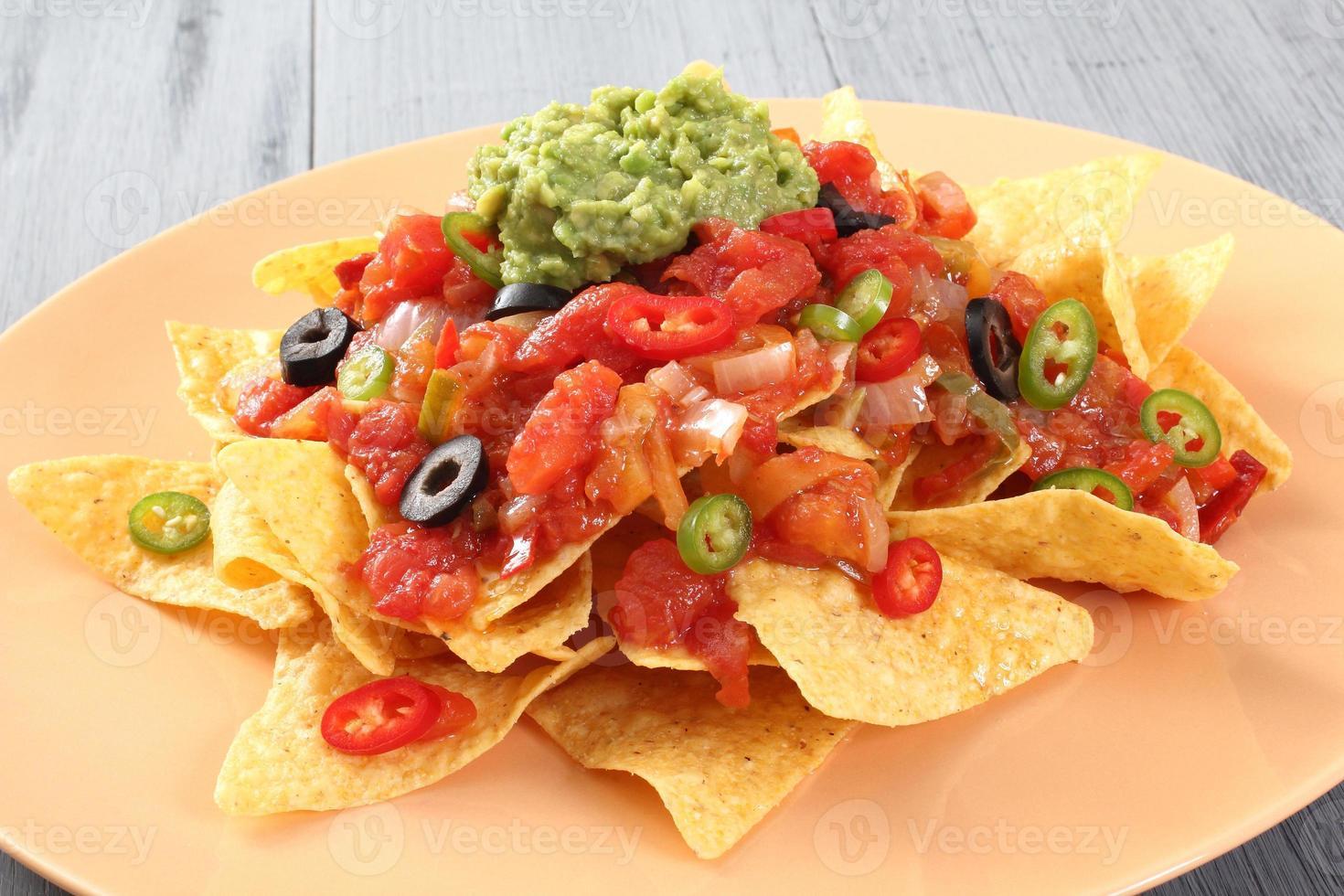 nachos au guacamole photo