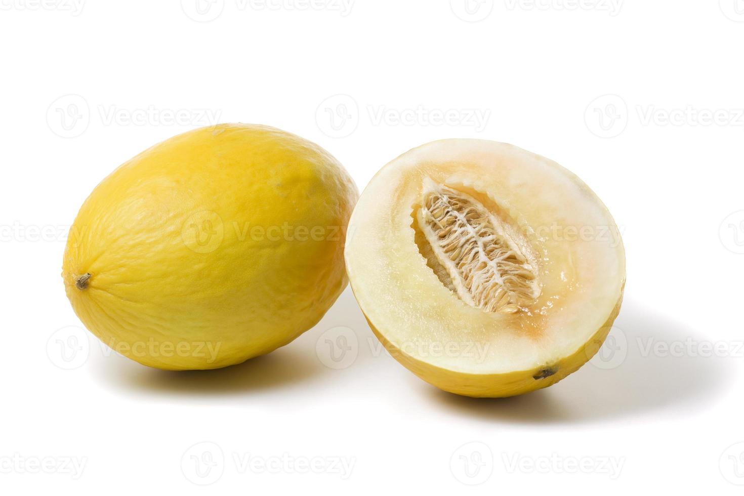 melon miellat entier et demi photo
