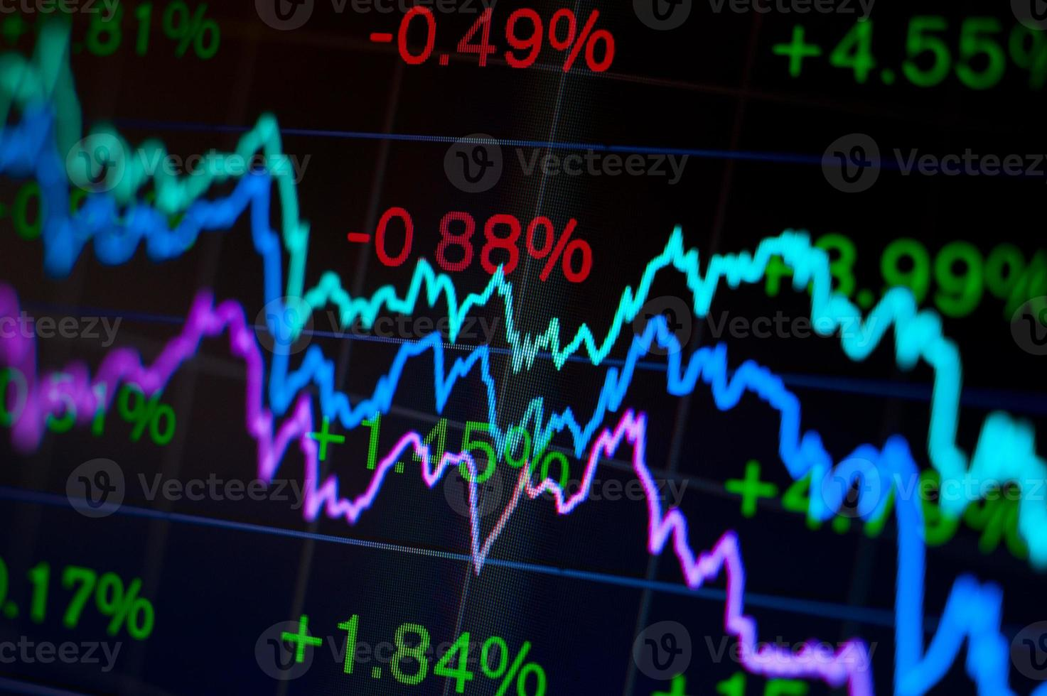 abstrait financier photo