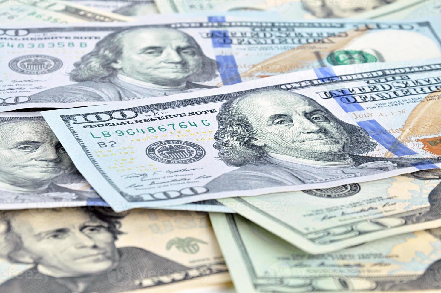 argent - dollars américains (usd) factures photo