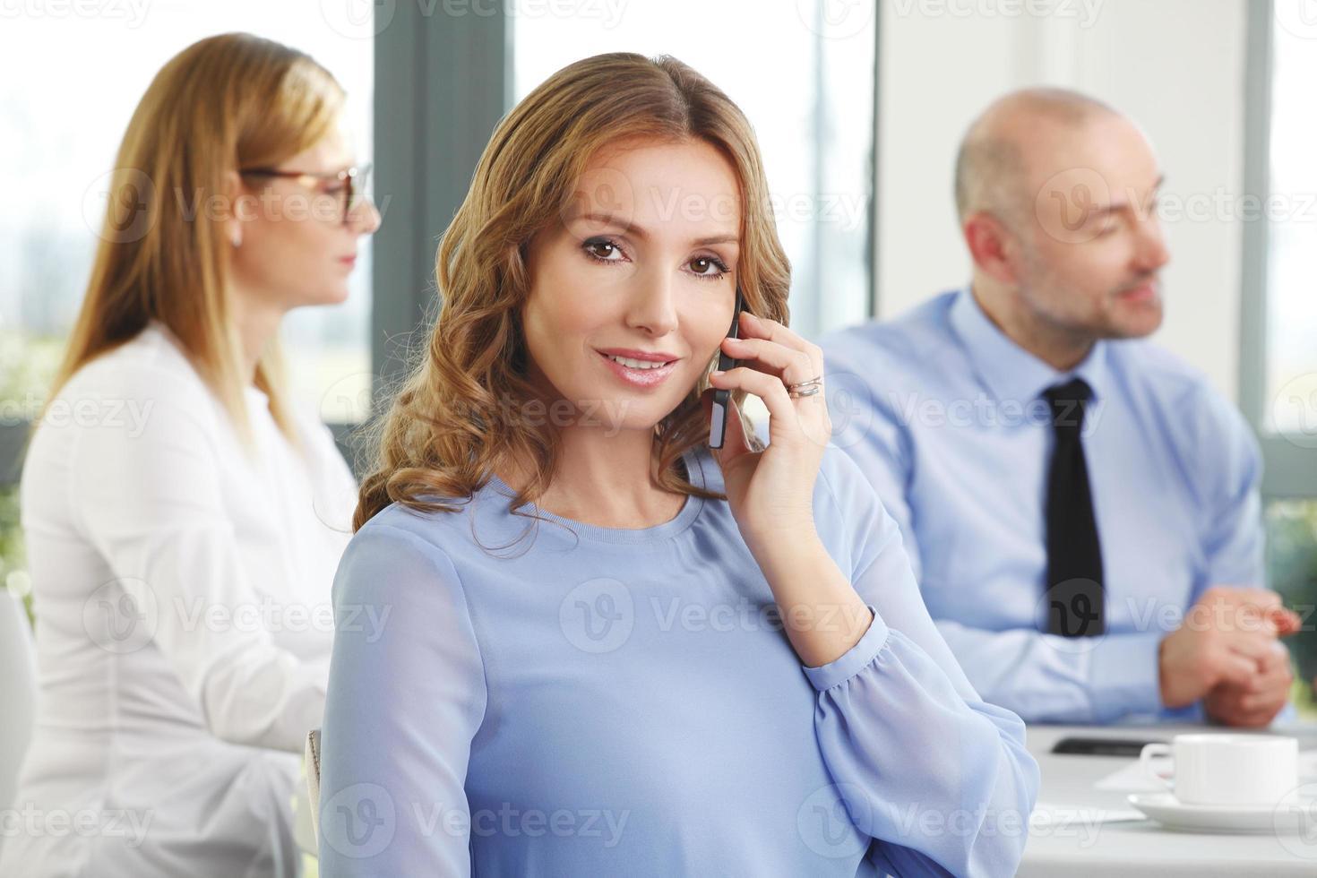 portrait de femme d'affaires exécutif photo