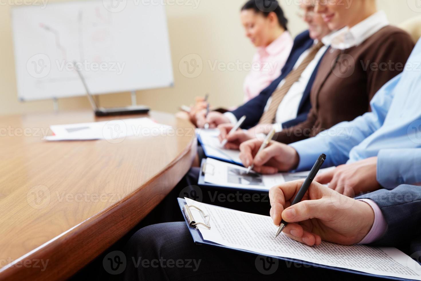 Planning d'affaires photo