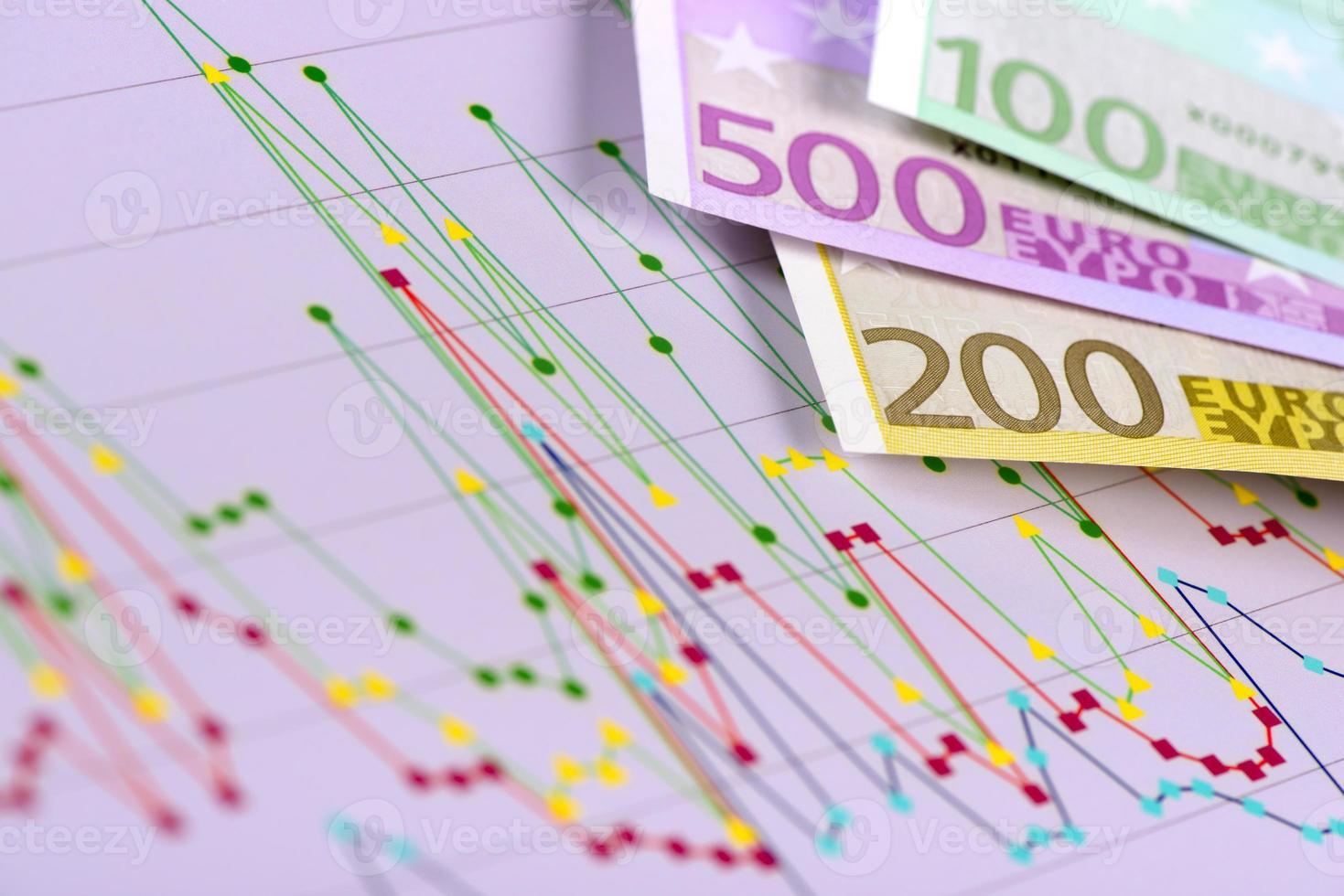 finance et calcul d'entreprise photo