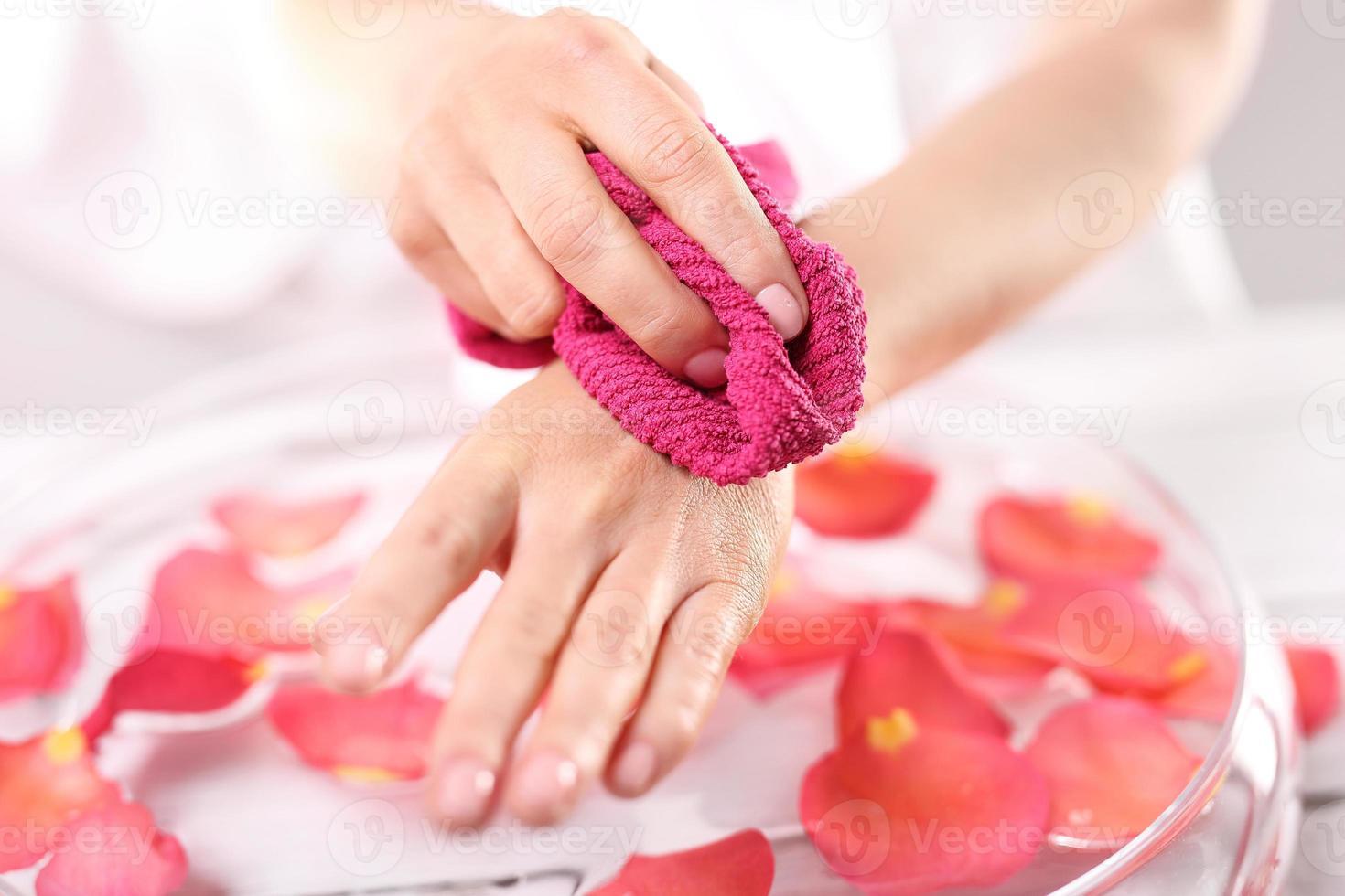 hygiène des mains photo