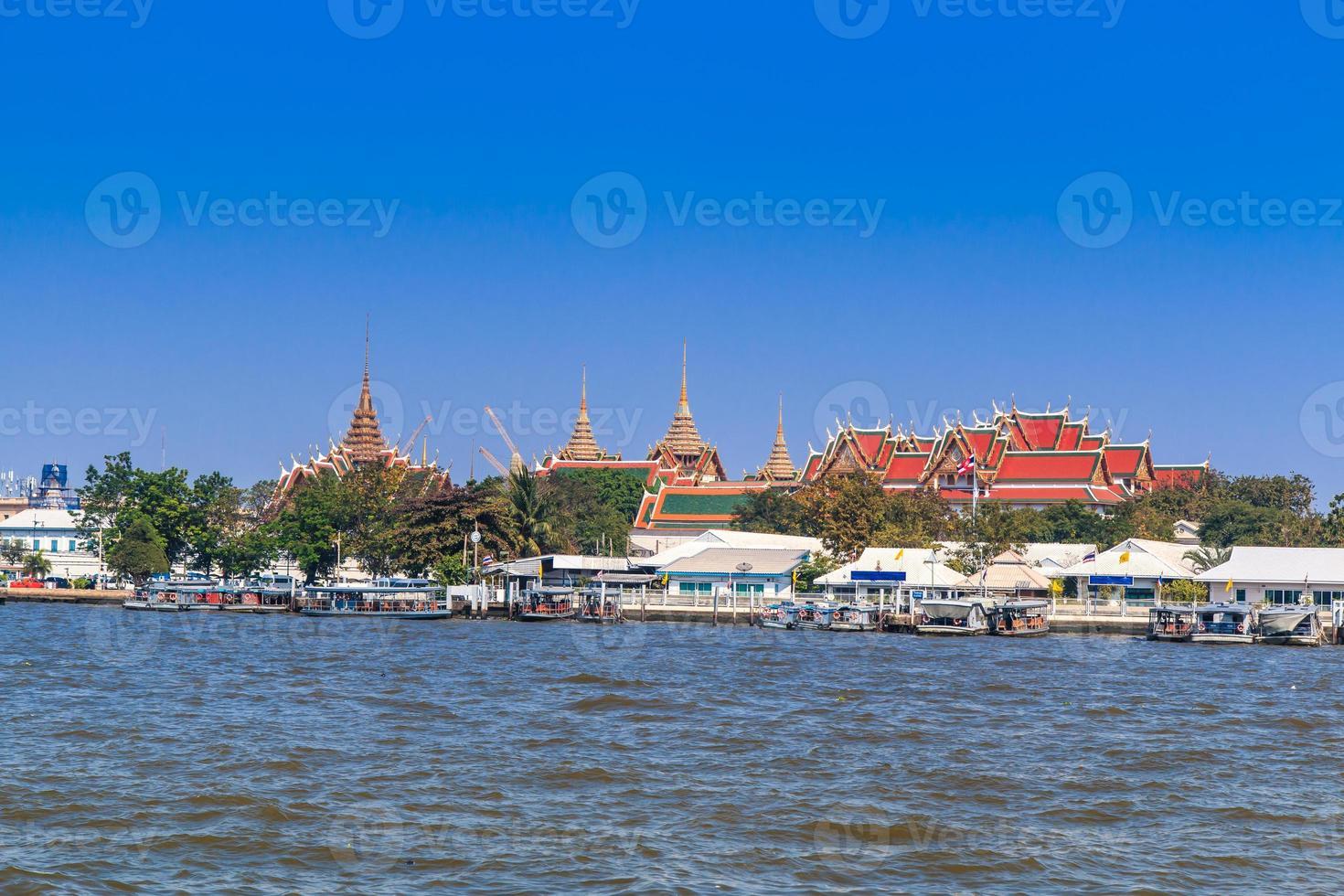 Palais Royal et Wat Phra Kaew à Bangkok, Thaïlande photo
