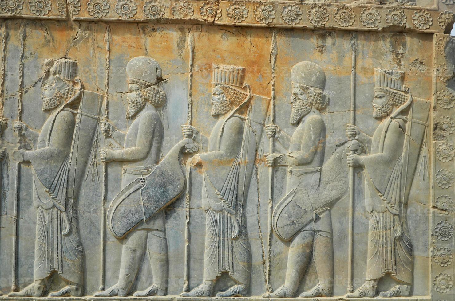 iran persepolis persan culture monument photo