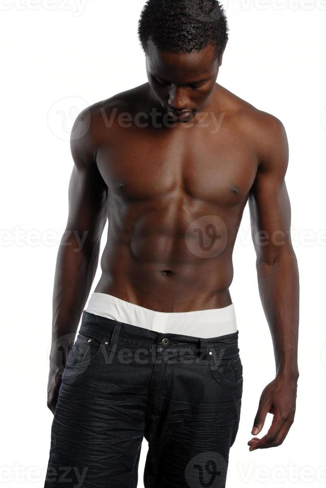 jeune, mâle américain africain photo