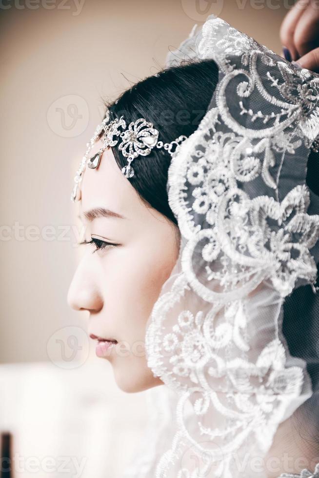 mariée asiatique photo