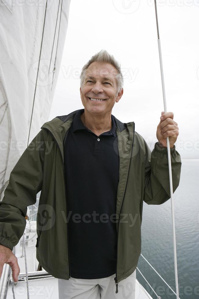 famille sur yacht photo